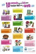10 conseils de la CAI pour rester net sur le web