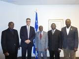 Représentants de la Commission nationale de l'informatique et des libertés (CNIL) du Bénin