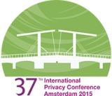 Logo - 37e Conférence internationale des commissaires à la protection des données personnelles et à la vie privée
