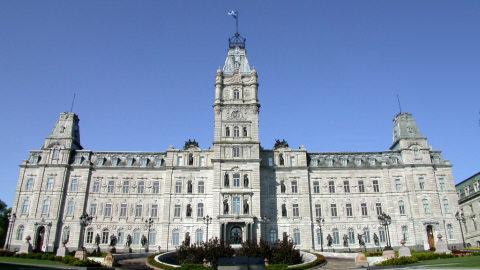 Hôtel du Parlement du Québec, Québec